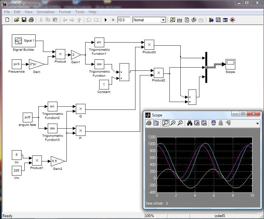 formula para calcular potencia electrica: