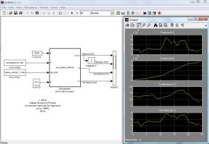 Modelo de turbina ideal considerando temperatura y variacion de la densidad del aire con matlab/Simulink