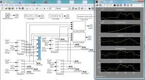 Generadores eólicos en modelo de Microgrid de Energía N° 1 usando Matlab/Simulink