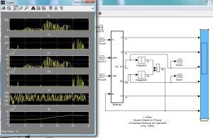 Baterías en modelo de Microgrid de Energía N° 1 usando Matlab/Simulink