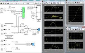 Gestor de potencia, corriente y energia en modelo de Microgrid de Energía N° 1 usando Matlab/Simulink