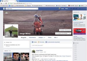 facebook personal Jorge MIREZ