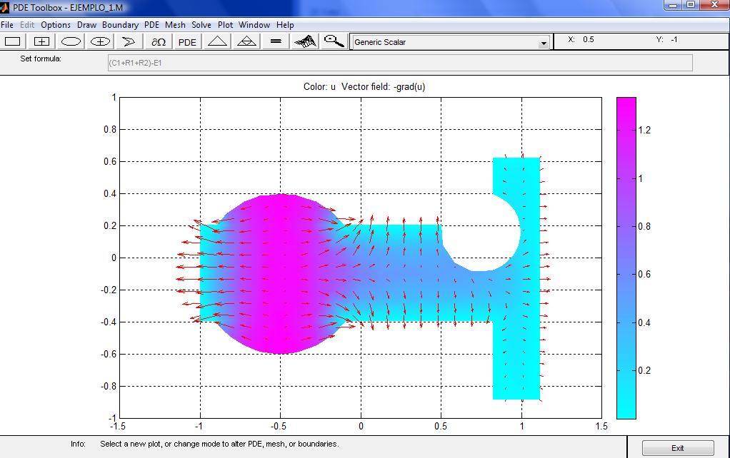 J518: La herramienta pdetool de Ecuaciones Diferenciales Parciales