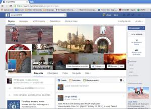 facebook fanpage Jorge MIREZ