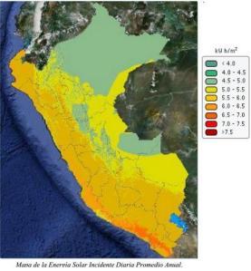 mapa_de_la_energía_solar_incidente_diaria_promedio_anual_Perú