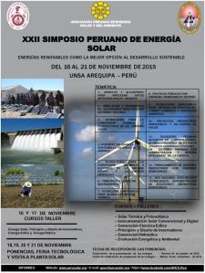 poster symposium solar arequipa 2015
