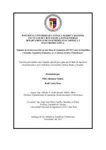 Pregrado Tesis Félix Almánzar y Raúl Castro República Dominicana 2011