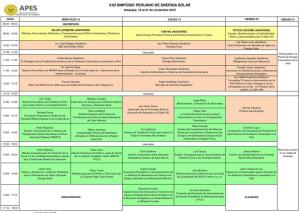programme solar arequipa 2015