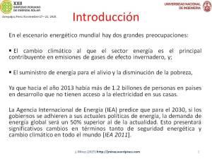 XXII Simposio Peruano Energía Solar Jorge MIREZ 2015 Diapositiva2