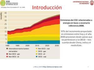 XXII Simposio Peruano Energía Solar Jorge MIREZ 2015 Diapositiva3