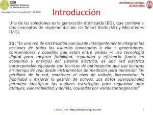 XXII Simposio Peruano Energía Solar Jorge MIREZ 2015 Diapositiva4