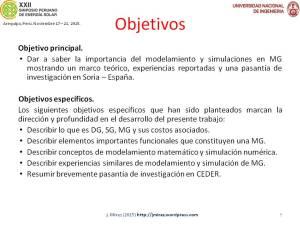 XXII Simposio Peruano Energía Solar Jorge MIREZ 2015 Diapositiva9