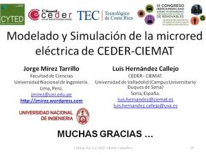 Modelling and Simulation of CEDER-CIEMAT Microgrid pag 15