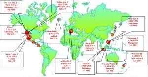 J985_Algunos proyectos de Geotermia en el mundo
